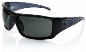 Eyres 952-SMG-PG Allblack Polarised Safety Sunglasses