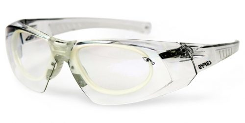60298aab13 Eyres 122 Salvation Safety Glasses with Prescription Rx Insert