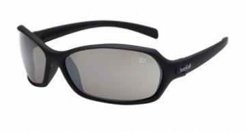Bolle Hurricane silver flash/brown lens safety glasses