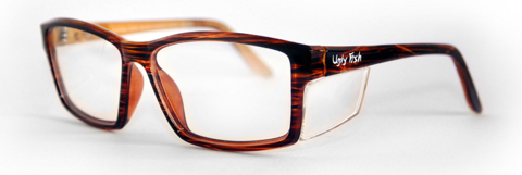 Ugly Fish Twister certified prescription safety glasses.