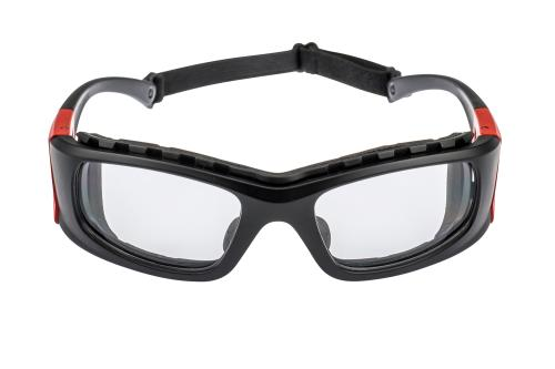 Flexible Clear Wrap Safety Glasses