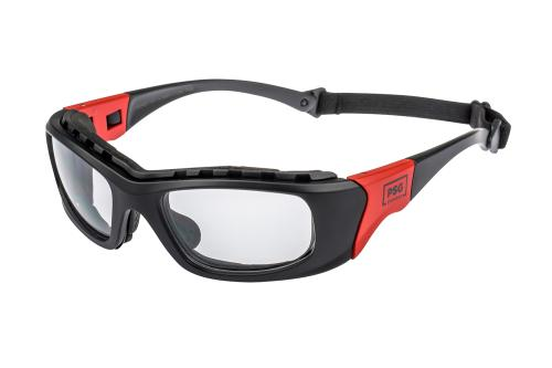 PSG storm side view blk/red frame