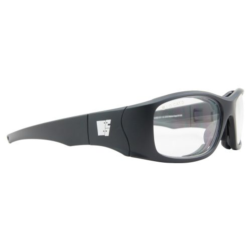 Jack Armour Trifecta prescription safety glasses.