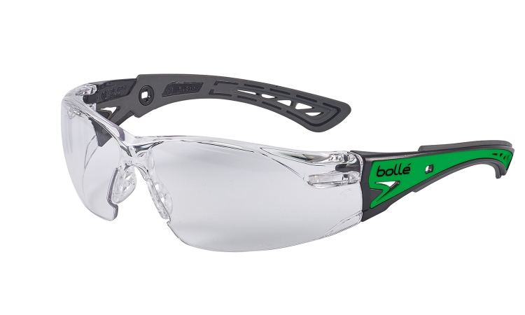 Bolle Rush + glow safety glasses