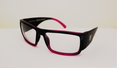 Point Break prescription safety glasses.