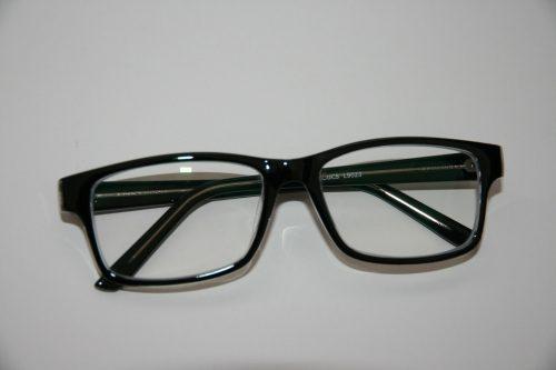 Blue control lens glasses L9023