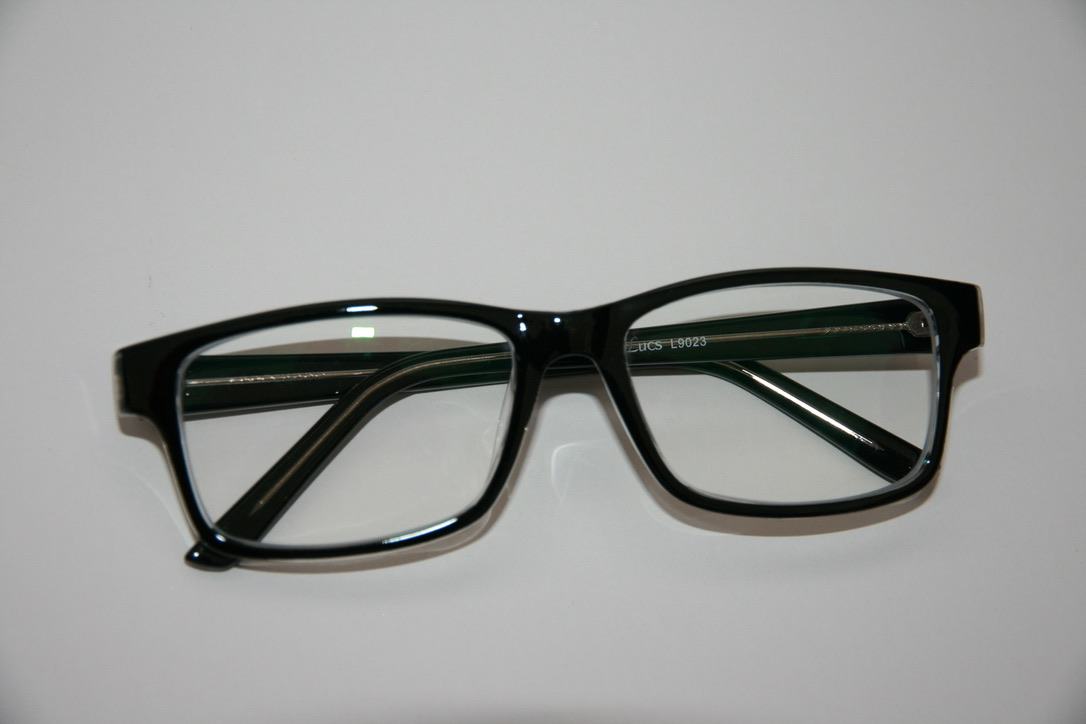 Blue control lens glasses L9023