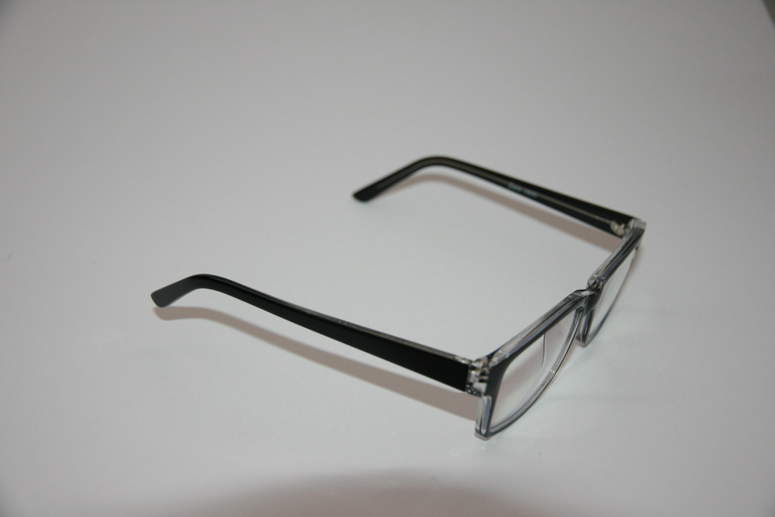 Side View of Blue blocker glasses