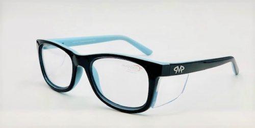 Matador Harley black/blue Prescription Safety Glasses