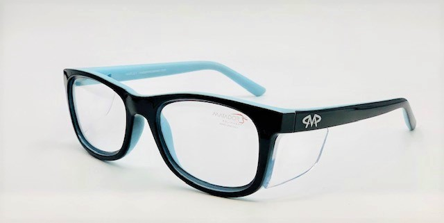 Matador Harley black/blue Prescription Safety Glasses