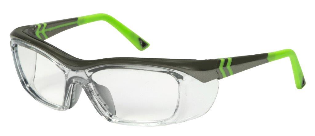 Hilco Leader OG225 green/black safety glasses