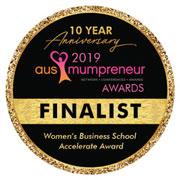 Mumpreneur finalist award