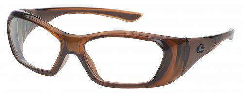 Hilco Leader OG210 brown prescription safety glasses