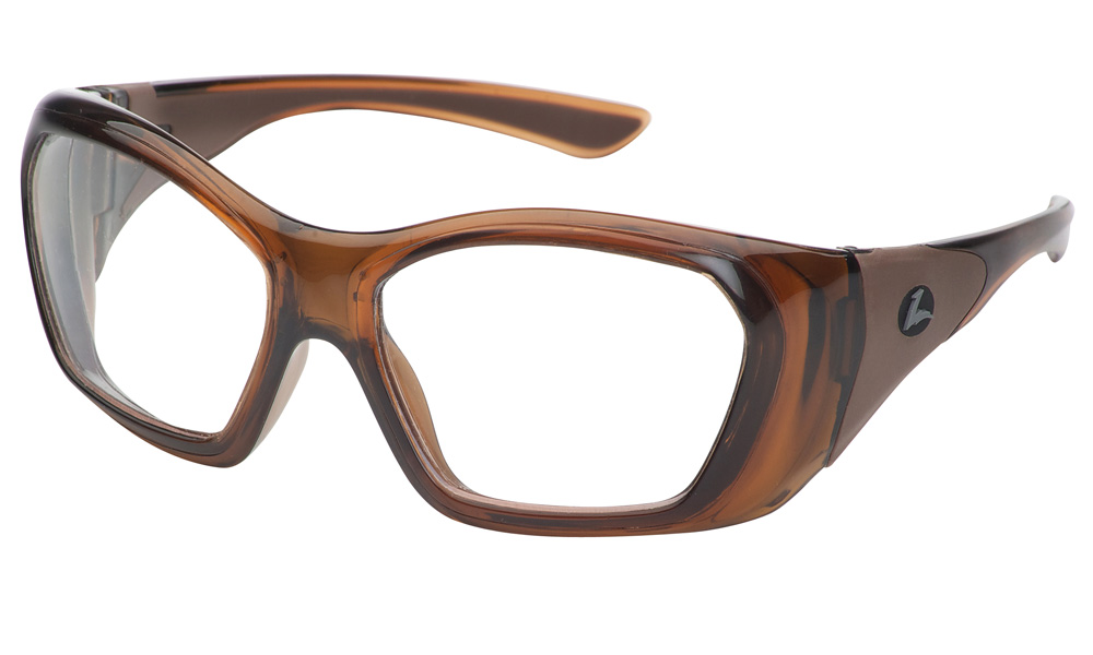 Hilco Leader OG210 brown prescription safety glasses