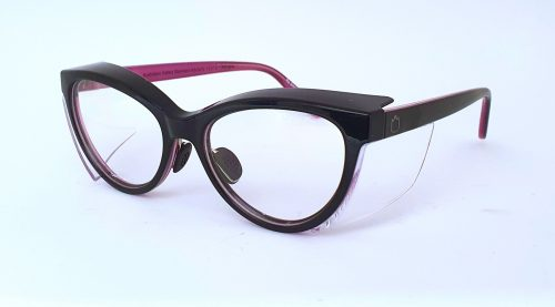 Ugly Fish Lynx Black Violet Prescription Safety Glasses