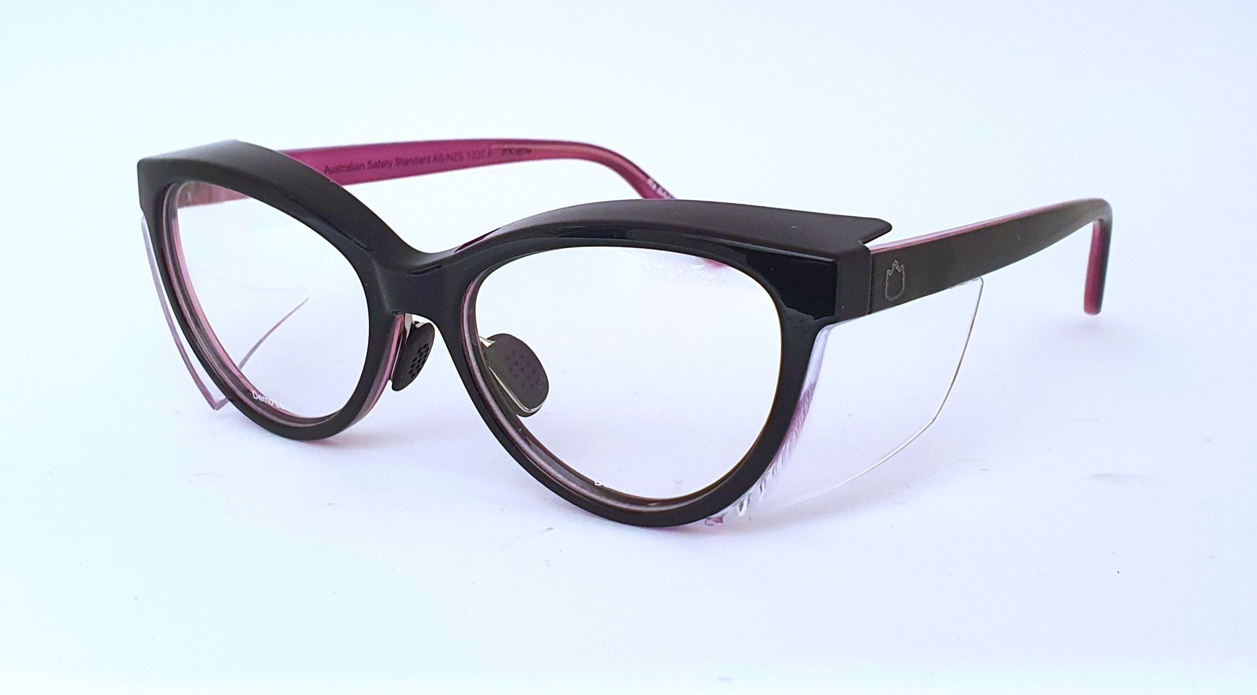 Ugly Fish Lynx Black Violet Prescription Safety Glasses