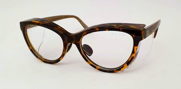 Ugly Fish Lynx tortoise Shell ladies safety glasses.