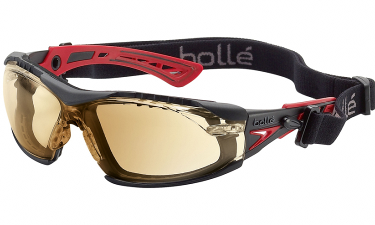 Bolle Rush Plus Seal Twilight safety glasses
