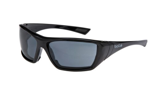 Bolle Hustler Seal Smoke lens safety glasses