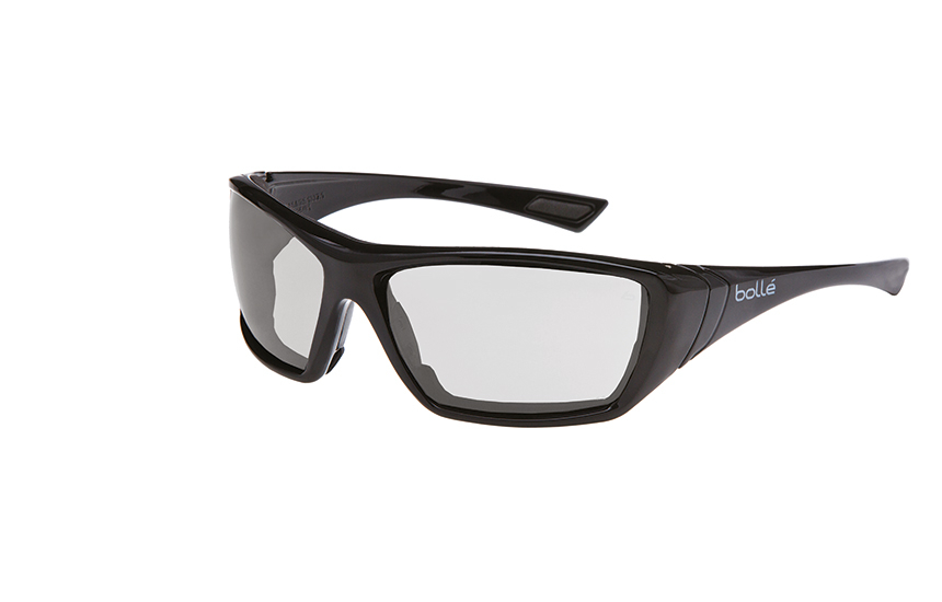 Bolle Hustler Seal Clear Lens Safety Glasses