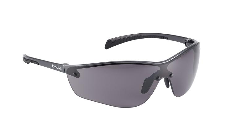 Bolle Silium+ smoke lens safety glasses