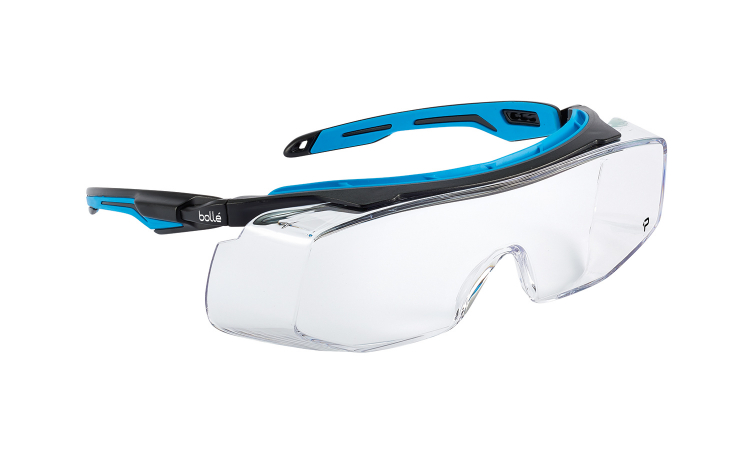Bolle Tryon OTG safety glasses clear