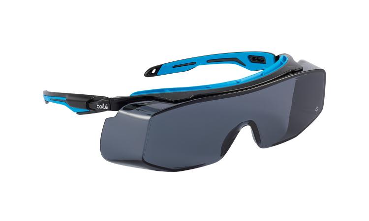 Bolle Tryon OTC smoke lens safety glasses